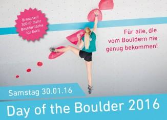 "Boulderwelt Frankfurt feiert ""Day of the Boulder 2016"" (c) Boulderwelt Frankfurt"