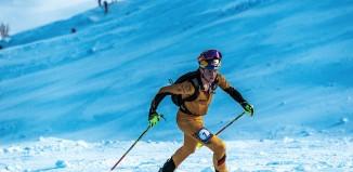 Toni Palzer beim Weltcup Skibergsteigen 2015 (c) Andres Beregovich/ekkoimages.com