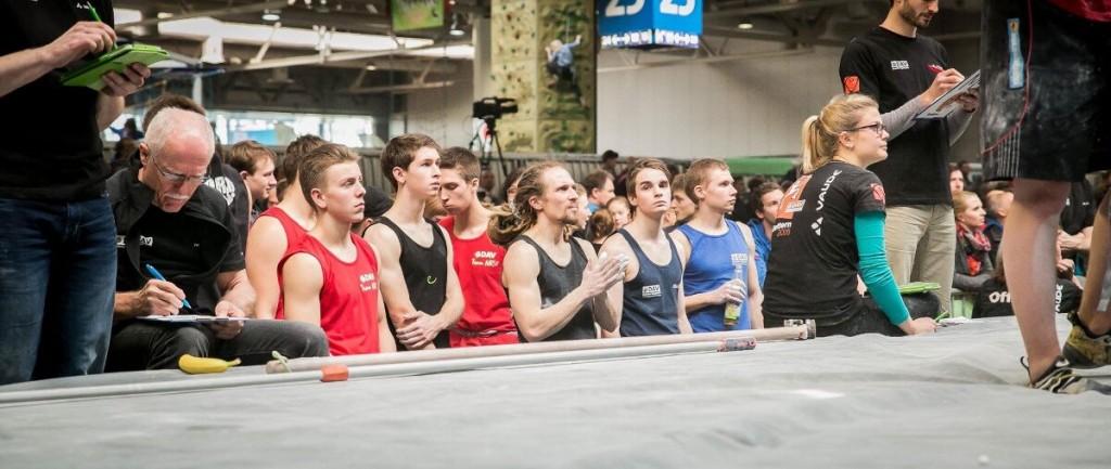 Starter beim 1. Deutschen Bouldercup (c) DAV / Vertical-Axis