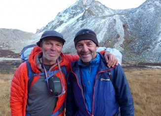Mick Fowler und Paul Ramsden zum dritten Mal Preisträger beim Piolets d'Or (c) Berghaus