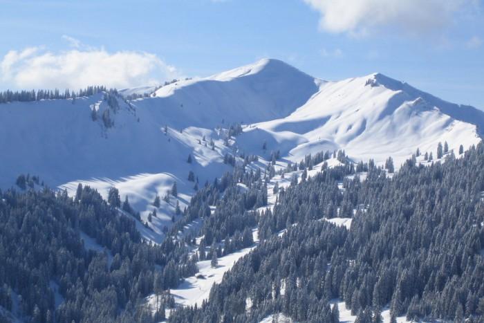 Skitouren-Paradeberg im Allgäu: Das Riedberger Horn (c) DAV
