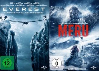 Gewinne ein Klettertrainingsboard zu den DVD-Starts von MERU und EVEREST (c) Panorama Entertainment
