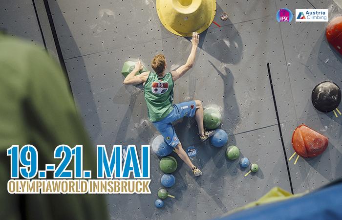 IFSC Kletterweltcup 2016: Innsbruck lädt zum Boulder-Showdown (c) ÖWK