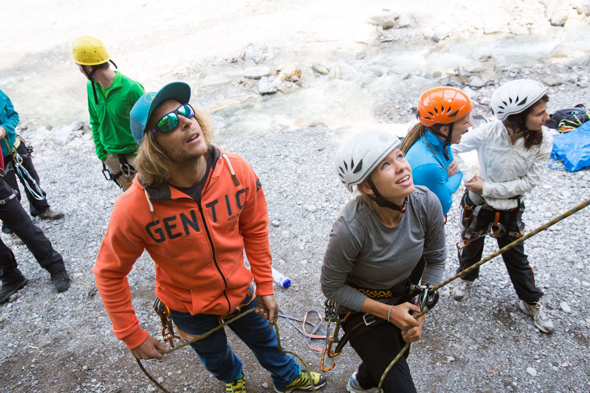 SAAC Climbing und Bike Camps 2016: Vom Powder in die Vertikale (c) SAAC