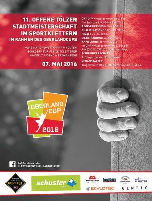 11. Tölzer Stadtmeisterschaft im Sportklettern (c) DAV Kletterzentrum Oberbayern Süd e.V.