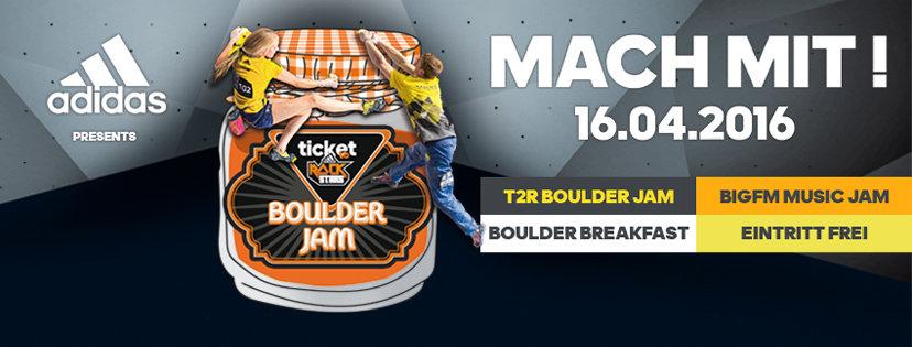 Ticket to Rockstars 2016 im Climbmax Stuttgart (c) Climbmax Stuttgart