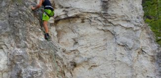 CLIMBHOW 2016: Zum Schnupperklettern in die Ehnbachklamm (c) CLIMBHOW
