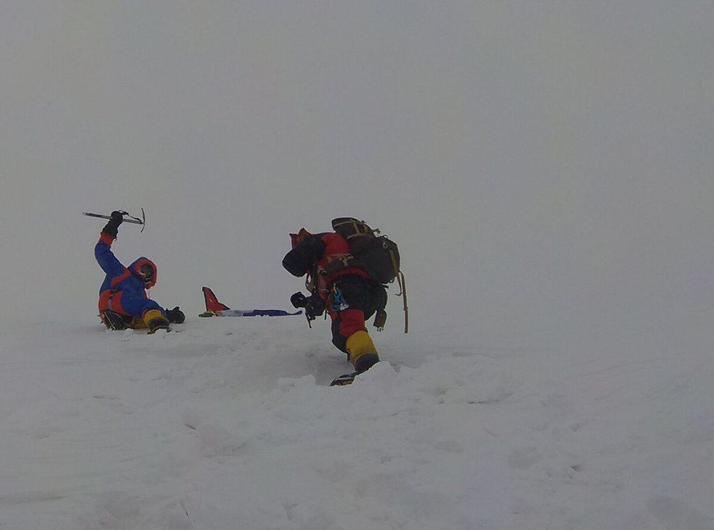 Jost Kobusch als jüngster Deutscher auf dem Gipfel der Annapurna (c) Archiv Kobusch