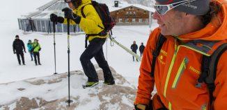 Pressekonferenz Baffin Island Expedition 2016 mit Stefan Glowacz, Robert Jasper und Fotograf Klaus Fengler (c) Klaus Fengler