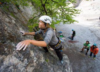 SAAC Climbing Camps 2016: Kostenlose Klettertipps von staatlich geprüften Bergführern (c) Johannes Mair / Alpsolut