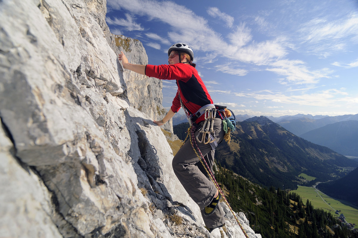 Aussichtsreiche Gipfeltouren und spannende Klettersteige im Tannheimer Tal (c) TVB Tannheimer Tal