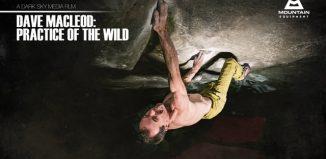 "Dave MacLeod in ""Practice of the Wild"" (8c) (c) Mountain Equipment"