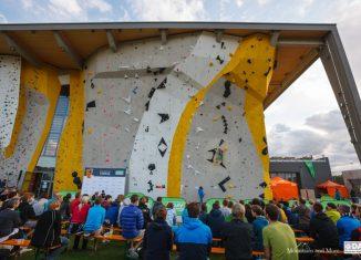 Deutscher Leadcup 2016 geht in München in die zweite Runde (c) DAV / Marco Kost