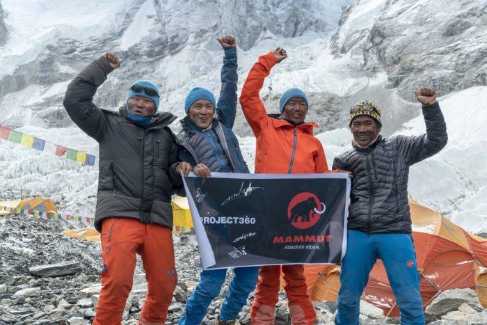 Mammut #project360 erobert den Mount Everest (c) Mammut #project360