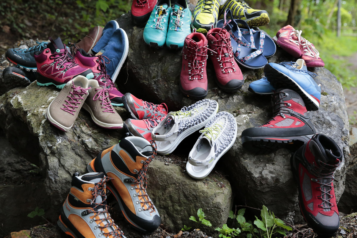 OutDoor 2016: Outdoor-Schuhe laufen sich immer leichter (c) Messe Friedrichshafen