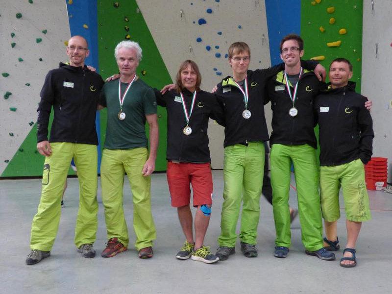 DAV Paraclimbing Team beim Weltcup in Campitello di Fassa (c) Reichert