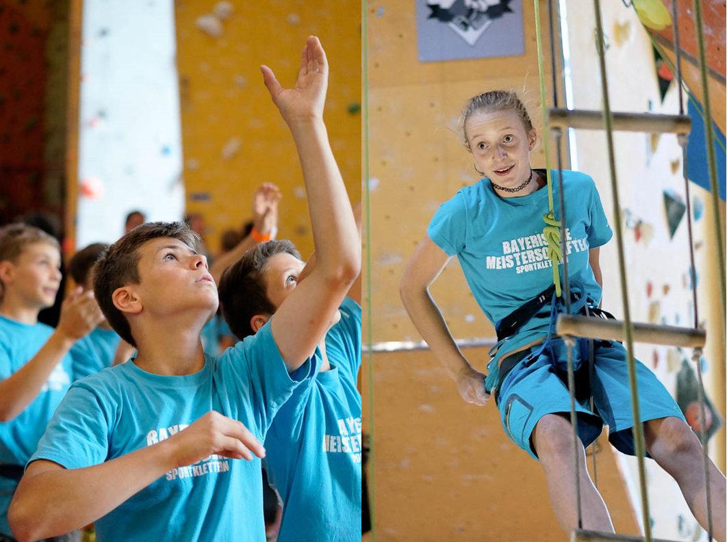 Saisonabschluss der bayerischen Wettkampfkletterer am 23.07.2016 in Coburg (c) Julia Zschiesche