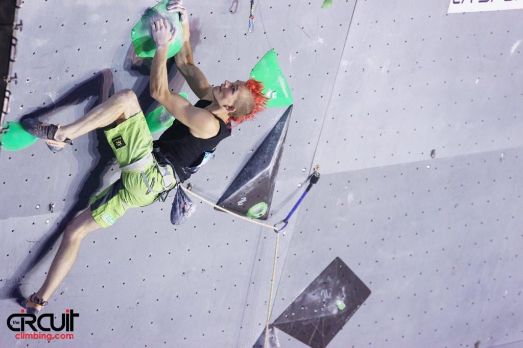 Sebastian Halenke (c) The Circuit Climbing