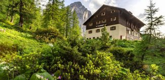 Das Hallerangerhaus im Karwendel (c) Stefan Wolf