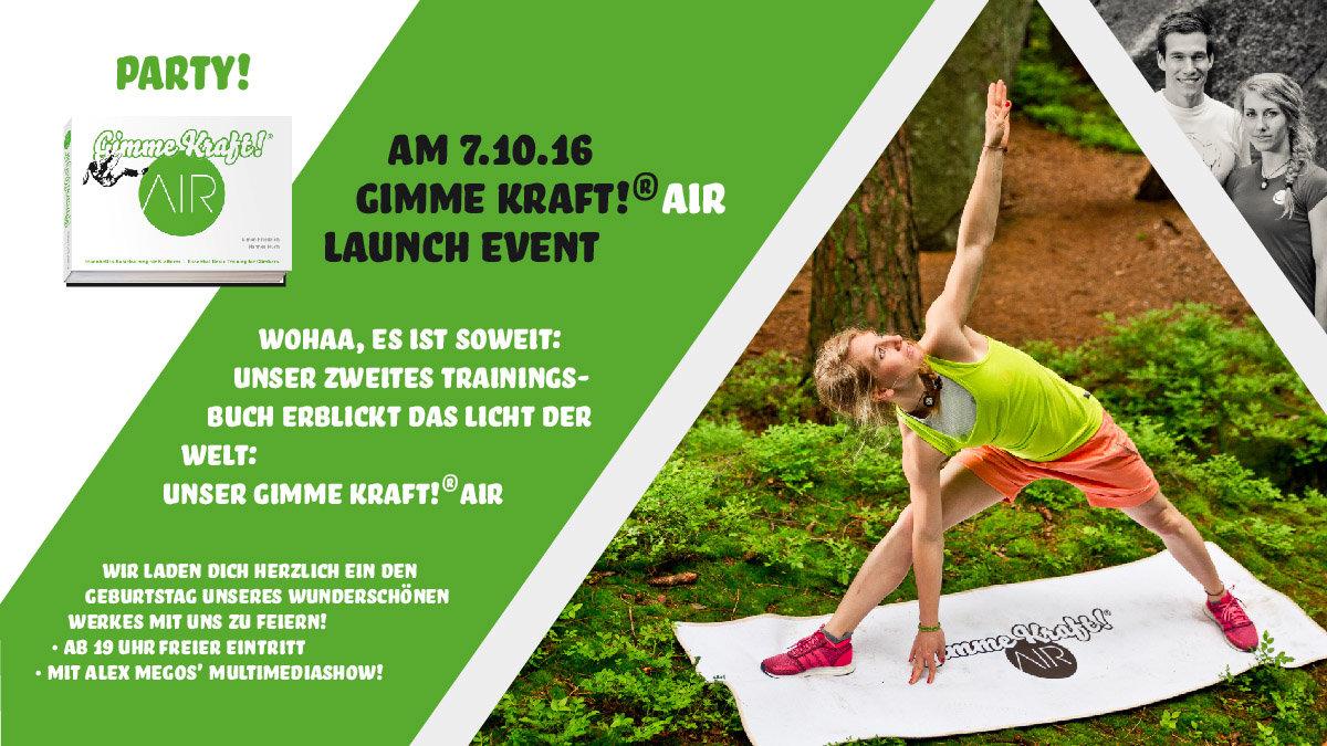 Gimme Kraft AIR Launch Event