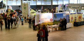 Kölner AlpinTag: Ausstellerbereich im Terrassensaal (c) GRENZGANG