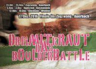 3 mit Kraut: DAS Boulderbattle rund um's Frankenjura (c) Rockstore24