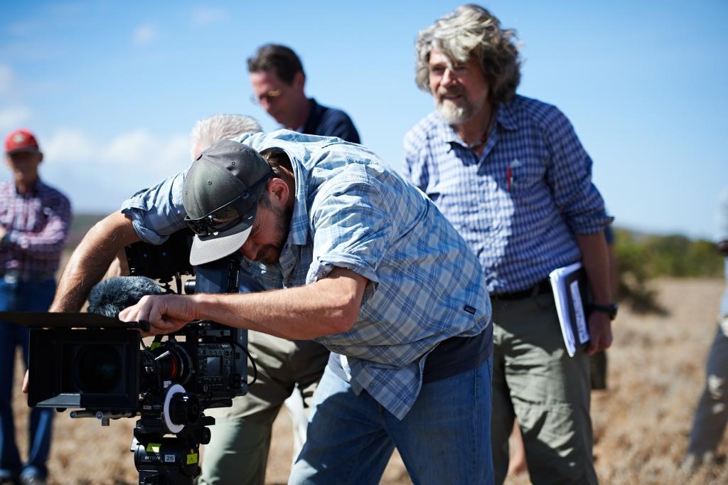 Reinhold Messner Weltpremiere beim IMS 2016 (c) ServusTV/Ferrigato