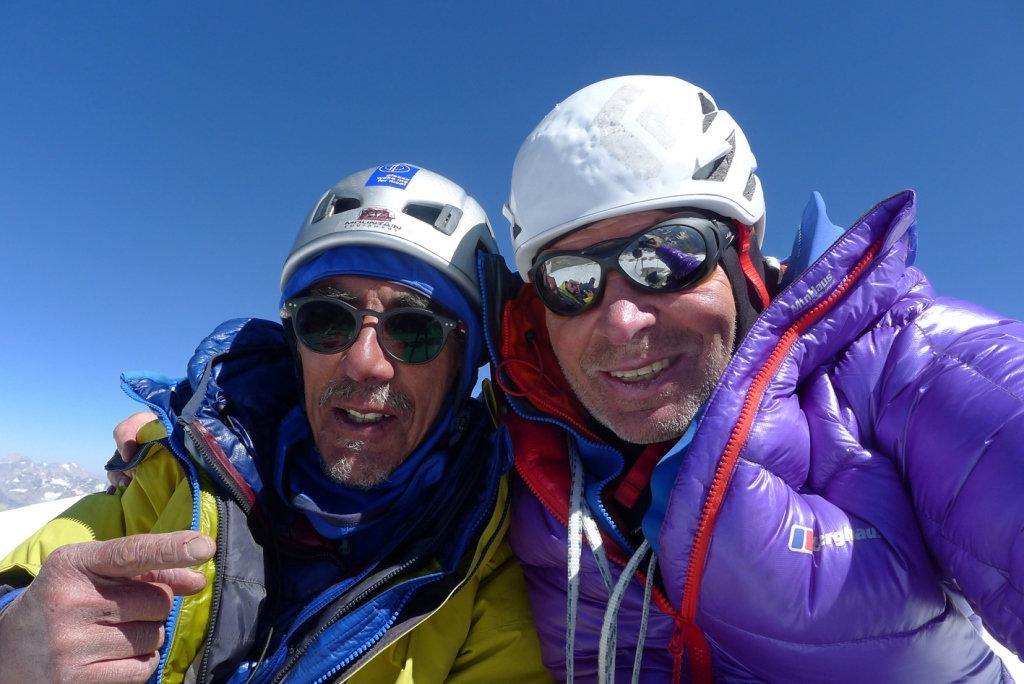 Mick Fowler und Vic Saunders gelingt Erstbesteigung des Sersank (c) Berghaus