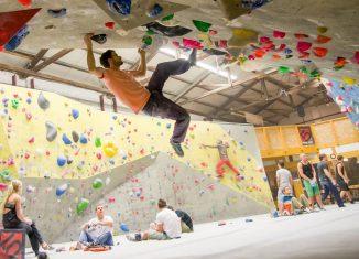 Schlüsselstelle Jungs Boulderhalle & Cafe wird größer (c) Archiv Jung