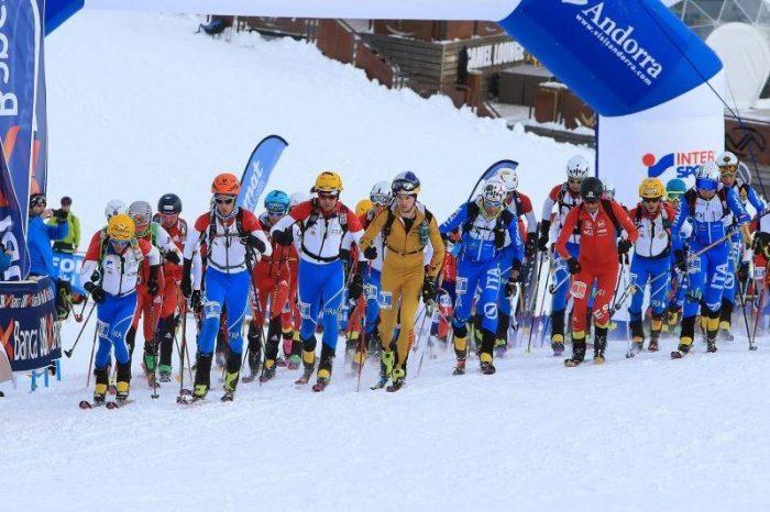 Hochkonzentriert - Toni Palzer beim Start des Individuals in Andorra. (c) DAV/Seebacher