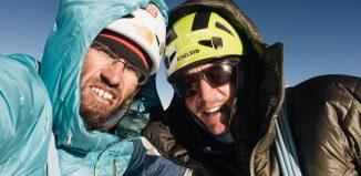 Hansjörg Auer und Alex Blümel gelingt Erstbesteigung am Gimmigela Chuli East (c) Elias Holzknecht