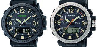 Casio präsentiert die PRO TREK PRG-600-Serie (c) Casio