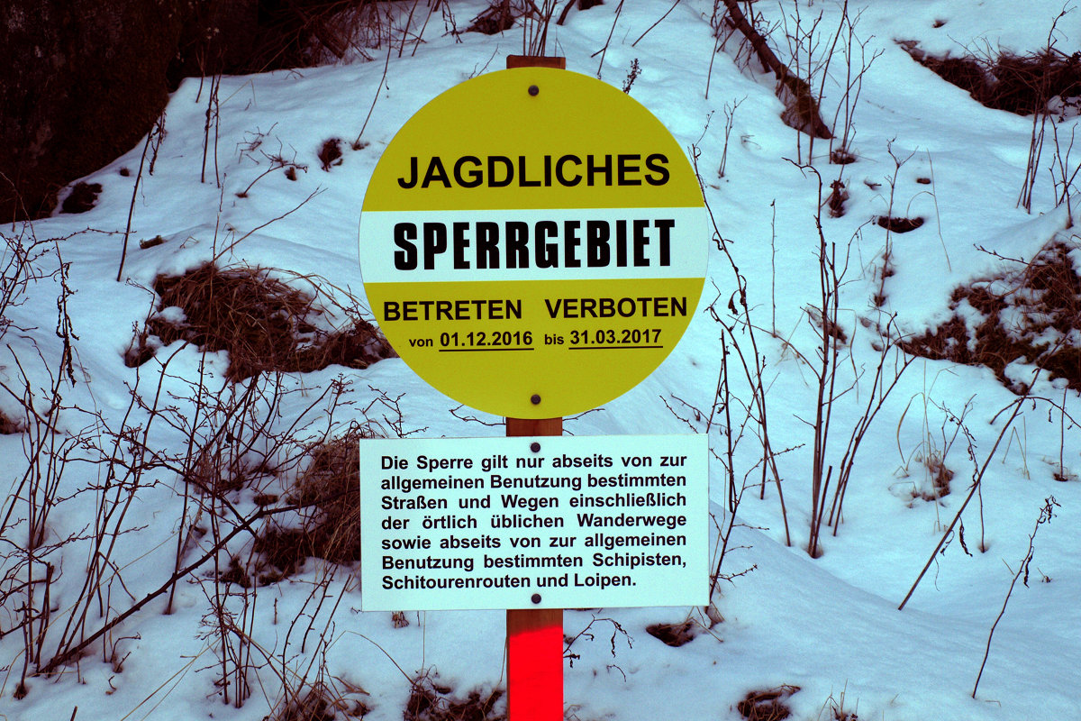 Der Alpenverein stemmt sich gegen das Betretungsverbot für Freizeitsportler im Maltatal (c) ÖAV/Klaus Rüscher