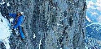 Erste Wiederholung von 'Metanoia' an der Eiger Nordwand (c) MAMMUT