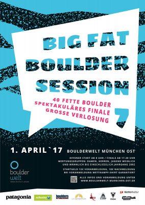 Big Fat Boulder Session 2017 (c) Boulderwelt München Ost