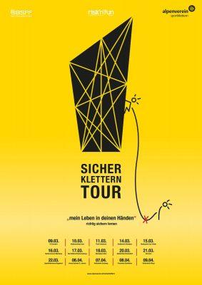 Die Aktion 'Sicher Klettern' des Alpenvereins tourt mit kostenlosen Workshops durch Österreich (c) Alpenverein