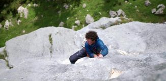 Fabian Buhl gelingt Solo-Rotpunktbegehung von 'Ganesha' (8c) (c) World of Freesports