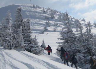 Das Riedberger Horn, ein beliebter Skitourenberg im Allgäu. (c) DAV