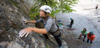 Kostenlose SAAC Kletter- und Klettersteig-Camps 2017 (c) Johannes Mair / Alpsolut
