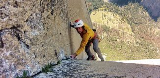 Freie Begehung der Muir Wall am El Capitan (c) Silvan Schüpbach, Dimitri Vogt