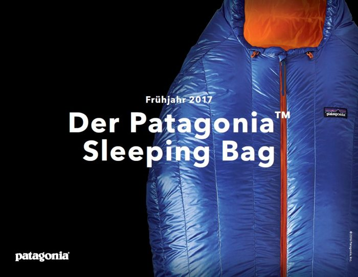 Der 850 Down Sleeping Bag von Patagonia (c) Patagonia