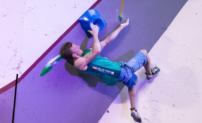 Kletterausrüstung Regensburg : Befreiungsschlag beim boulderweltcup 2017 in mumbai für team austria