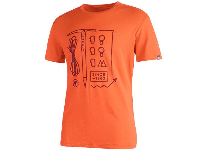 Mammut Sloper T-Shirt Men: Historisch versiert