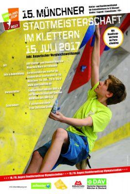 15. Münchner Stadtmeisterschaft im Klettern und Bouldern