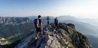 Sanfter Tourismus im Bergsteigerdorf Ramsau in Berchtesgaden. (c) Wolfgang Ehn