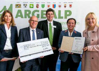 ARGE ALP Preis 2017 geht an das Projekt A.L.M. (c) ARGE