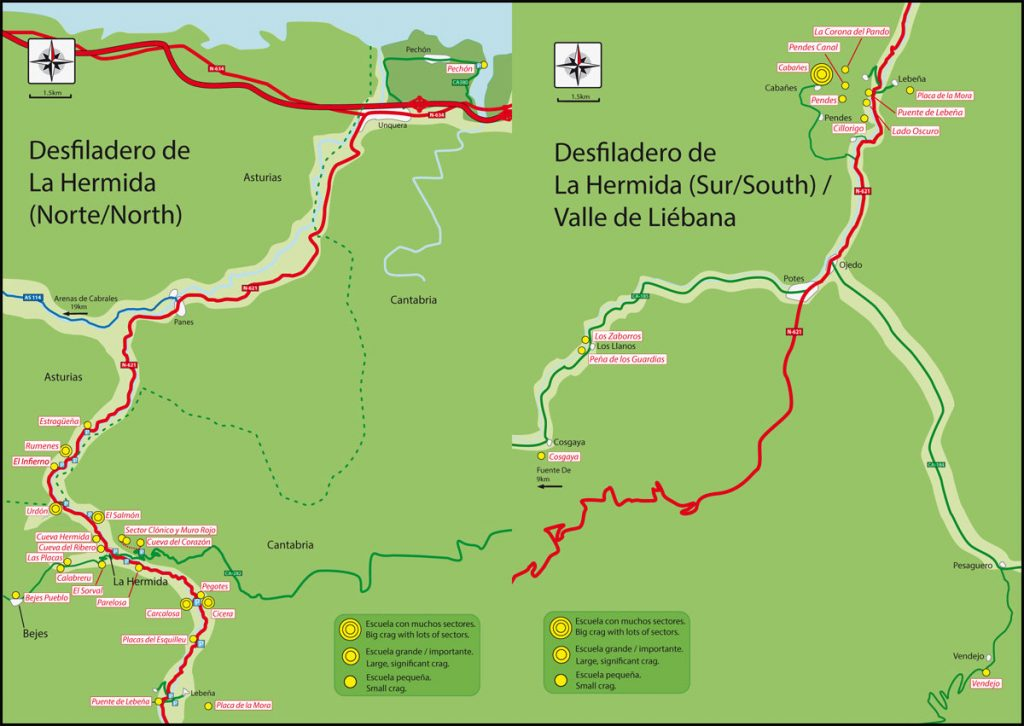 El Desfiladero de La Hermida (c) Roca Verde