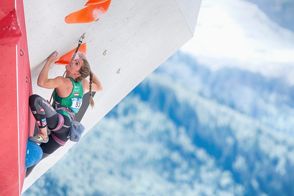 Leadweltcup 2017 in Chamonix (c) Elias Holzknecht/KVÖ