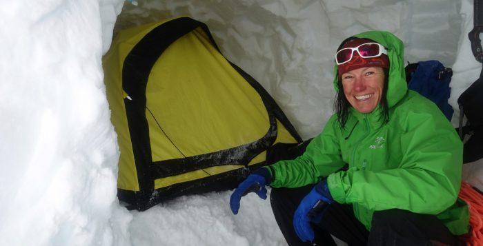 Ines Papert in Patagonien (c) Luka Lindić