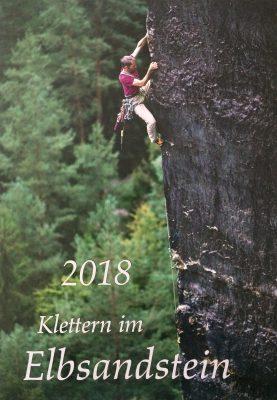 Kalender 'Klettern im Elbsandstein 2018' (c) Verlag Jäger